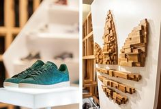 Adidas Originals fashion space by ONOMA Architects, is a 26 sq.m. of retail space in Attica department store in Athens, which had to be transformed into a unique branded environment showcasing client's top-fashion collaboration collections and offering an alternative retail experience to the consumers.