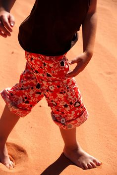 Convertible Cargo Pants for Kids Sewing Tutorial from Aesthetic Nest  #cargo #pants #kids #sewing #tutorial #convertible
