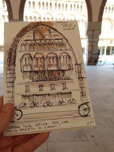 Ferrara città di archi e di cerchi: perfetta per una Matita architetto In Viaggio