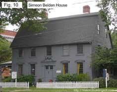 Another variation of the Georgian-style house features a central hallway, with stairs stretching from the front to back of the house and two chimneys on either side. Description from historicbuildingsct.com. I searched for this on bing.com/images