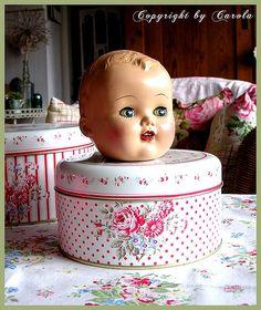 Sweet baby doll head
