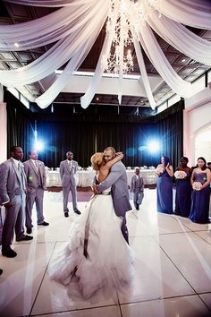 Real Weddings {Atlanta}: Keiwana & Kyle! - Blackbride.com