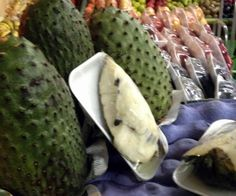 Graviola Fruit a.k.a sour sop, guanabana or guyabano is known to kill cancer cells. www.vegetarianyums.com
