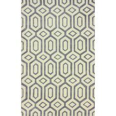 nuLOOM Handmade Modern Diamond Trellis Slate Rug (7'6 x 9'6) - Overstock™ Shopping - Great Deals on Nuloom 7x9 - 10x14 Rugs