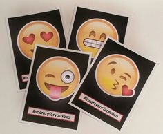 Your little hipster will <3 these Emoji Valentines cards!  Print as many times as you need!  {INCLUDED} This listing includes a high