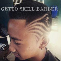 Hair Art by Getto. Chiangmai Thailand  IG:Gettoskill  FB:Getto Maharajah