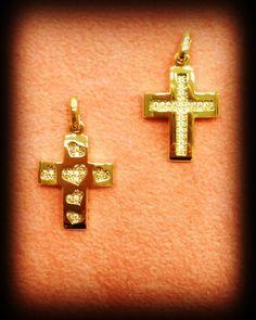 gold stones with stones Gold Cross, Jewelries, Crosses, Chevrolet Logo, Jewelry Design, Stones, Symbols, Letters, My Love