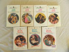 SUSAN NAPIER – HARLEQUIN PRESENTS ROMANCE –LOT OF 7 PAPERBACK BOOKS–Combine Ship
