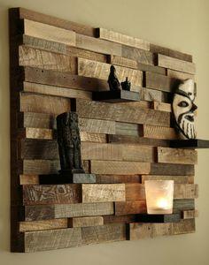 Hangulatos, fa polc a lakás bármelyik helyiségébe