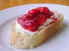 Strawberry Mascarpone  Bruschetta #recipes #foodie