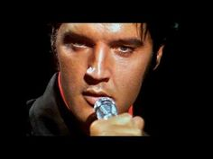 Elvis - Blue Eyes Crying in the Rain (was the last song Elvis sang in the  Raquetball Hall behind Graceland hours before He died); via YouTube