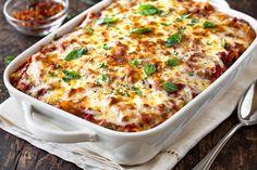 Casserole Recipes, Pasta Recipes, Casserole Dishes, Al Forno Recipe, Cheesy Pasta Bake, Italian Dinner Recipes, Sweet Italian Sausage, Baked Ziti, Snacks