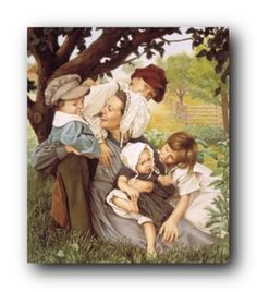 I so adore this painting!! Emma and her children - by Liz Lemon Swindle