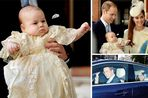 Prince George christening: Baby waves to crowd as William and Kate arrive at St James's Palace - Mirror Online