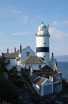 The Cloch Lighthouse, Scotland.I want to visit here one day.Please check out my website thanks. www.photopix.co.nz