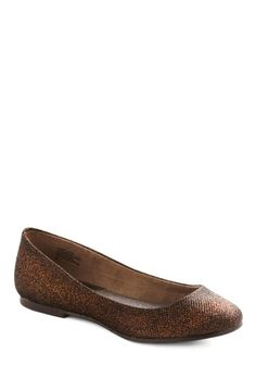 bfedd9e9e40e ModCloth copper flats Only Fashion