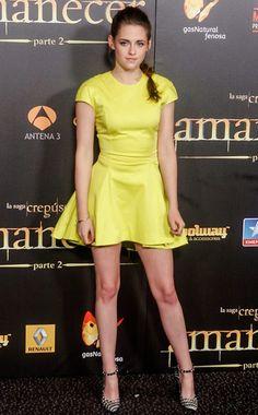 DONT! Kristen Steward Breaking Dawn II premier in Madrid