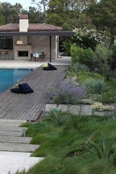 Beverly Hills Splash - mediterranean - pool - los angeles - Cassy Aoyagi, FormLA Landscaping
