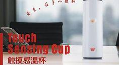 嘻嘻微店,Temperature indicated in LED CUP,温度感应杯 外贸出口,CE认证