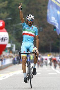 #VincenzoNibali #Astana takes solo win at #TreValliVaresine!