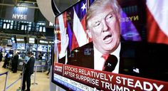 Why Wall Street Is Suddenly in Love with Trump - http://conservativeread.com/why-wall-street-is-suddenly-in-love-with-trump/