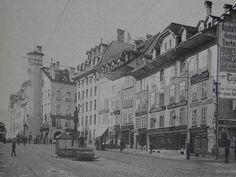 Bern: Kornhausplatz mit dem Restaurant Anker