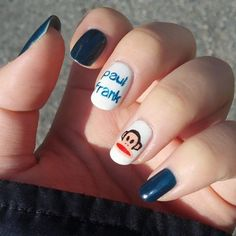 This mani is positively polished! Julius definitely approves!  Do you have Paul Frank perfect nails like Haneul?