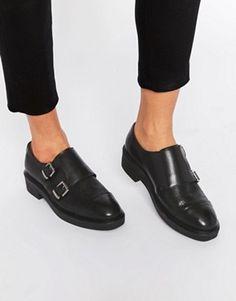 9c84c69bc84e Bronx – Flache Monk-Schuhe mit Schnalle Womens Boots On Sale