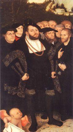 1530's, Portrait of Duke Johann der Bestandige of Saxony - Lucas Cranach the Elder - WikiArt.org