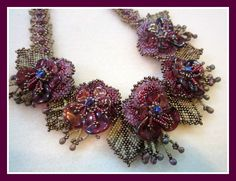 Amnon and Tamar  by Angelika Motzkin Taught in the studio of the Bogal Bead Boutique