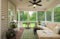 2012 Parade of Homes Showhouse - traditional - porch - other metro - Plum and Crimson Fine Interior Design