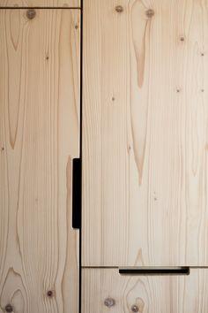 Image 9 of 14 from gallery of Ark Shelter / Michiel De Backer + Jakub Senkowski + Martin Mikovčák. Photograph by Thomas Debruyne Plywood Interior, Plywood Furniture, Furniture Chairs, Furniture Plans, Kids Furniture, Garden Furniture, Bedroom Furniture, Outdoor Furniture, Custom Made Furniture