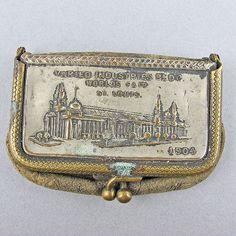 1904 Worlds Fair St Louis purse