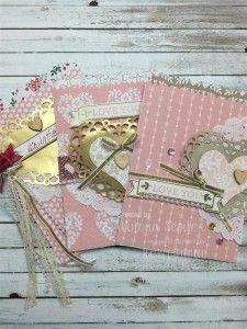 Stampin' Up! Mini Treat Bag Thinlits, Love Blossoms Designer Series Paper Stack, Love Blossoms Embellishment Kit, Creative Packaging