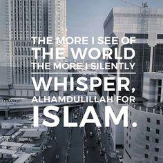 Alhamdulillah for Islam ☝❤ Islam Religion, Islam Muslim, Allah Islam, Islam Quran, Allah God, Islamic Qoutes, Islamic Inspirational Quotes, Muslim Quotes, Religious Quotes