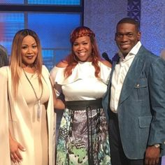 It Looks Like Mary Mary Duo Erica and Tina Campbell Taped An Episode of The Preachers Today