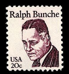 Dr. Bunche, an American political scientist, government official, and United Nations official, received the Nobel Peace Prize in 1950 for mediating the Palestine conflict between Israel and the Arab nations in 1949.