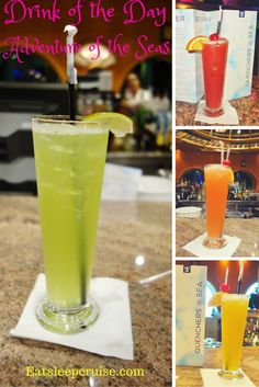 Drink of the Day on Adventure of the Seas