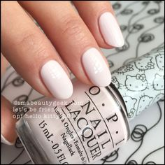 OPI Let's Be Friends – OPI Hello Kitty 2016. Visit imabeautygeek.com for full collection swatches, review, and comparisons!