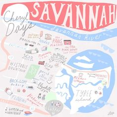 24 hours in Savannah, Georgia with Cheryl Day • As featured on Design Sponge