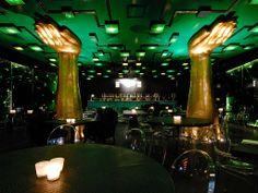 #shu #club #bar #dance #lights #egyptian #StanleyKubrick #odyssey #interiordesign #design #green #golden #hands #milan #italy #europe #tour #travel #tourism #guide #journey #trip #getaway #metropole #apps #COOLCITIES www.cool-cities.com ©Jörg Tietje/ teNeues Digital Media