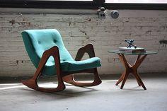Pleasing Adrian Pearsall Mid Century Modern Jacks Side Table for Craft Assocaites (U.S.A., 1960s) by Kinzco, via Flickr