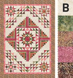 Another fab BOM. I love all your BOMs, each for their very own reasons as I've learned so much from each of them. I've finished 2 so far: 2012 – the one that introduced me to quilting, never stopped since and the 2016 Jan-Jun, beautiful. I voted for the pink one but I may be influenced by having just made the blue 365 challenge :-). May I suggest for next year's BOM to ask Edyta Sitar to design an applique quilt. I just love her quilts