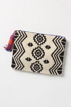beaded purse // anthropologie