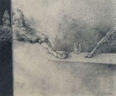 CODICIA, drawing - © José Hernández (Spanish, B.1944)