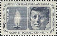 [I Aniversario del asesinato del presidente John Fitzgerald Kennedy, 1917-1963, tipo ZZ] - 1964