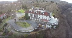 This historic hotel once hosted famous guests, but now it is tragically decayed.