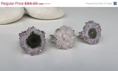 Hey, I found this really awesome Etsy listing at https://www.etsy.com/listing/191703390/sale-stalactite-ring-quartz-ring