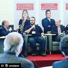#Repost @cmdann with the chamber and the u of Winnipeg's talking leadership and business.  An action shot of me taking with Dave Anvus and @wpgchamber at the the university of Winnipeg's business symposium.  #business #event #roundtbale #startup #innovation