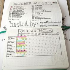 """#planwithmechallenge Day 7: Habit Tracking I've changed up my habit tracker a…"